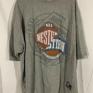 Vintage UNK NBA Team Patches 3XL SHORT SLEEVE